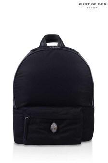 Kurt Geiger London Black Recy Kensington Backpack
