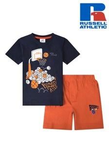 Russell Athletic Ball T-Shirt & Jersey Short Set