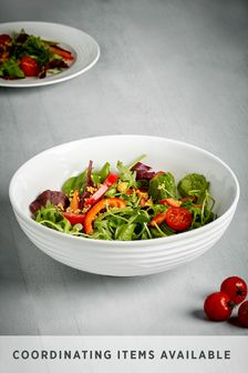 Malvern Embossed Serve Bowl