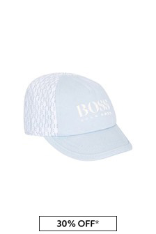 Baby Boys Blue Cotton Hat