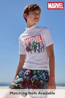 Multi Marvel® Printed Swim Shorts (3-12yrs)