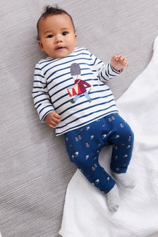 Blue Soldier T-Shirt And Legging Set (0mths-2yrs)