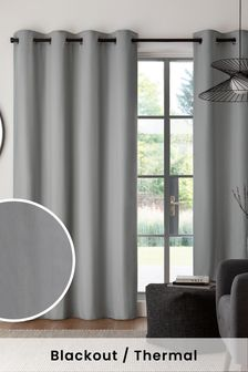 60553a3b Grey Curtains & Blinds | Grey Blackout & Lined Curtains | Next