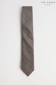 Ted Baker Store Prince Of Wales Check Tie