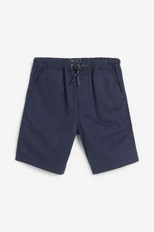 Navy Pull-On Shorts (3-16yrs)