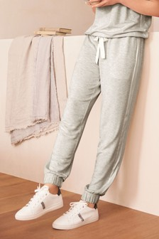 Grey Soft Viscose Joggers