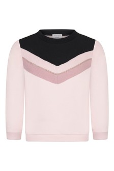 Girls Pink Organic Cotton Sweater