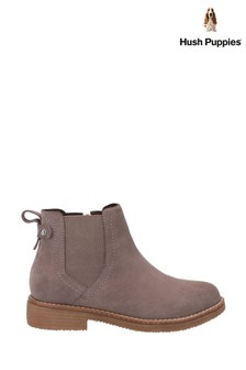 Hush Puppies Grey Maddy Ladies Ankle Boots