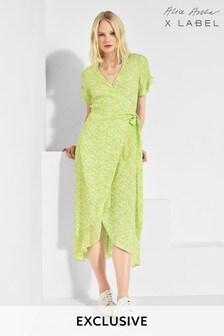 Alice Archer x Label Floral Wrap Dress