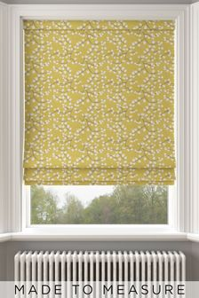 Apple Yellow Gilley Made To Measure Roman Blind