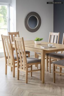 Cotswold Extending Dining Table By Julian Bowen