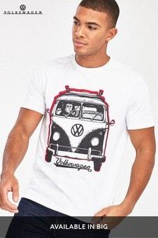 White Gorilla Volkswagen Licence T-Shirt