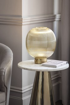 Champagne Hertford Battery Operated Ambient Lamp