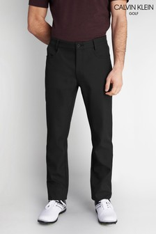 Calvin Klein Golf Black Artic-Tech Bonded Trousers