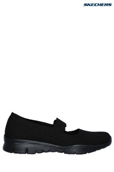 Skechers® Black Seager - Power Hitter Trainers