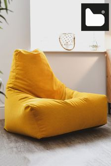 Mustard Mighty B Bag Brushed Suede by Extreme Lounging