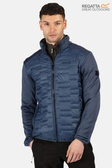 Regatta Blue Clumber Hybrid Softshell Jacket