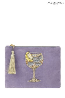 Accessorize Lilac Gin Glass Pouch