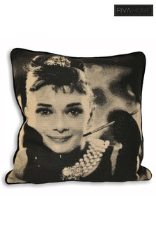Audrey Hepburn Cushion by Riva Home