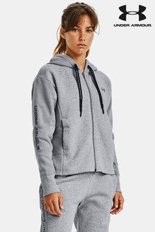 Under Armour Rival Fleece Embroidery Full Zip Hoodie