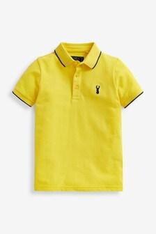 Yellow Polo Shirt (3-16yrs)