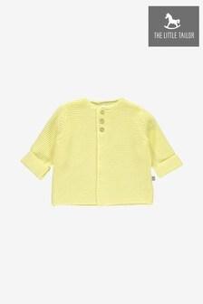 The Little Tailor Lemon Cotton Cardigan