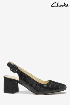 Clarks Navy Sheer Violet Shoes