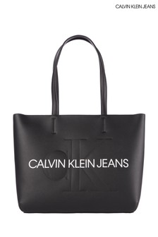 Calvin Klein Jeans Black Shopper