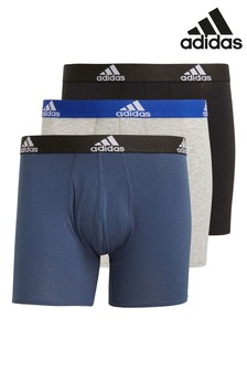 adidas Black Briefs 3 Pack