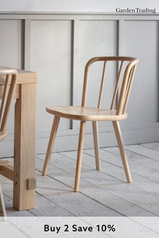 Pair of Uley Chairs in Natural By Garden Trading