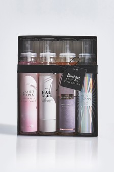 Set of 4 Body Mist Wardrobe Gift Set
