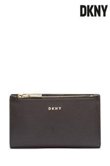 DKNY Bryant Logo Print Bi Fold Purse