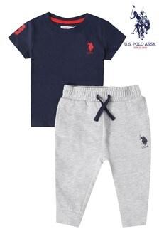 U.S. Polo Assn. Player T-Shirt & Jogger Set
