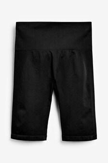 Navy Seamless Cycling Shorts