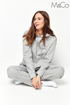 M&Co Grey Straight Leg Joggers