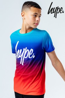 Hype. Red Fade T-Shirt