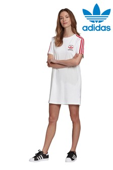 adidas White England Dress