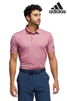 adidas Pink Golf Camo Poloshirt