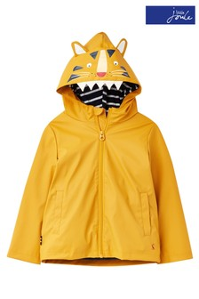 Joules Yellow Riverside Character Rubber Coat
