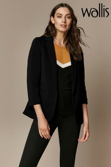 Wallis Black Ponte Jacket