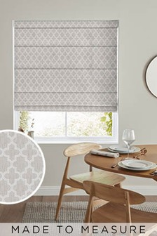 Helio Linen Natural Made To Measure Roman Blind