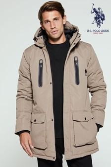U.S. Polo Assn. Tech Hooded Parka