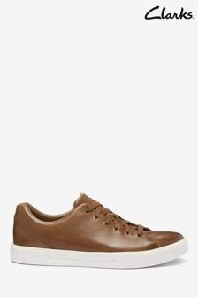 Clarks British Tan Leather Un Costa Lace Shoes