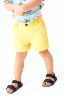 Yellow Chino Shorts (3mths-7yrs)