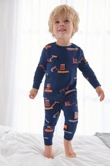 Navy Digger Snuggle Pyjamas (9mths-8yrs)
