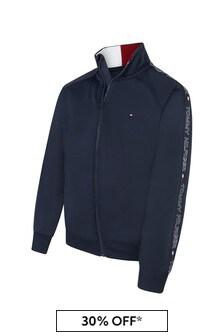 Tommy Hilfiger Boys Navy Track Jacket
