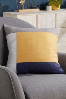 Dalby Colourblock Cushion