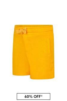 Dolce & Gabbana Kids Dolce & Gabbana Baby Boys Yellow Cotton Shorts