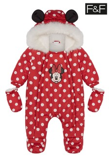 F&F Red Minnie Mouse™ Pramsuit