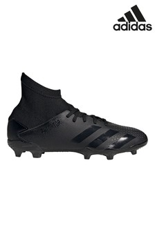 adidas Black Predator P.3 FG Junior & Youth Football Boots